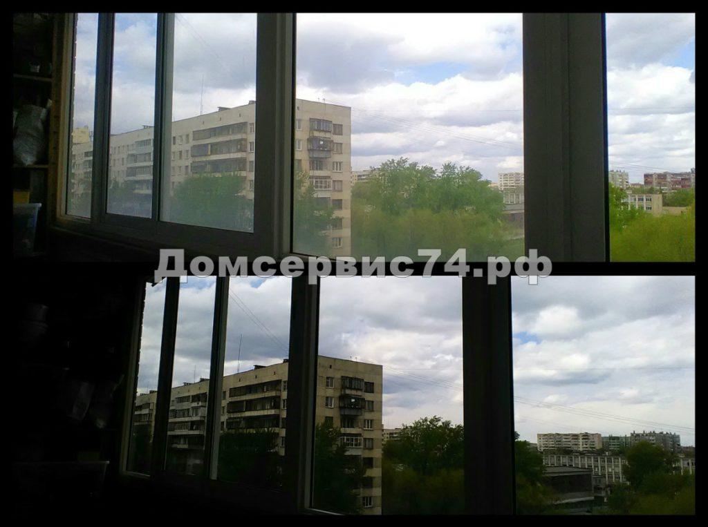 мытье балкона